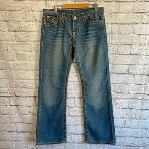 TRUE RELIGION Mens Bobby Straight Leg Jeans
